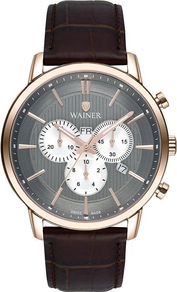 Мужские часы Wainer WA.19672-B wainer wainer wa 19672 d