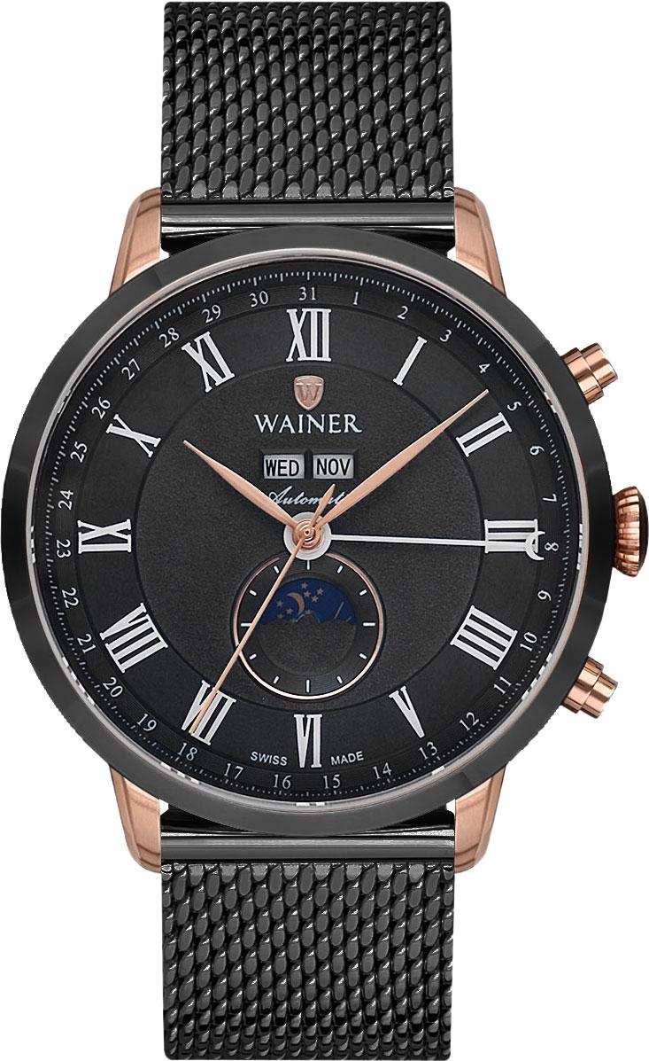 цена Мужские часы Wainer WA.25045-A онлайн в 2017 году