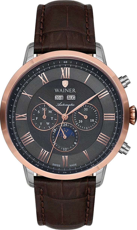 лучшая цена Мужские часы Wainer WA.25055-B