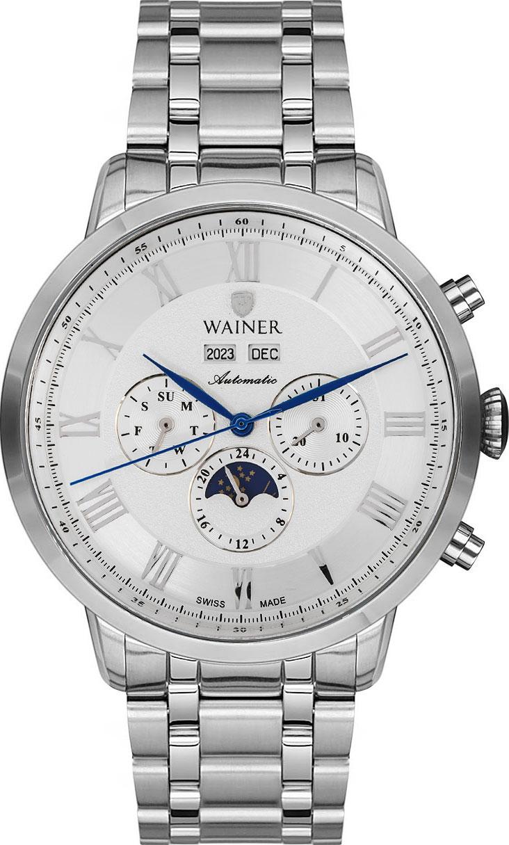 цена Мужские часы Wainer WA.25065-B онлайн в 2017 году