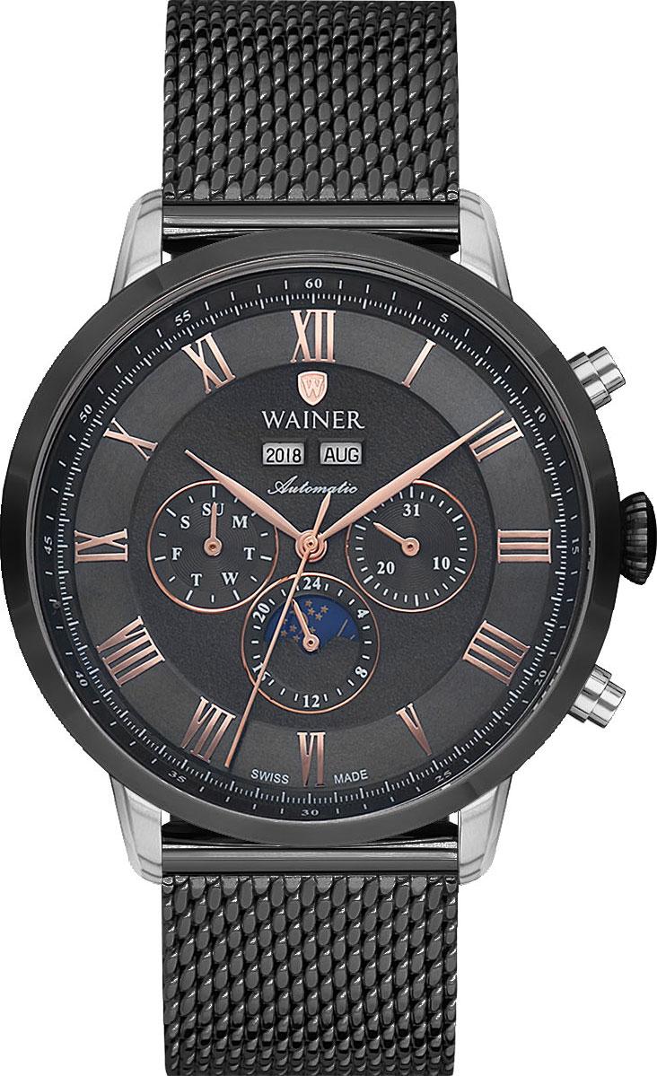 цена Мужские часы Wainer WA.25075-A онлайн в 2017 году