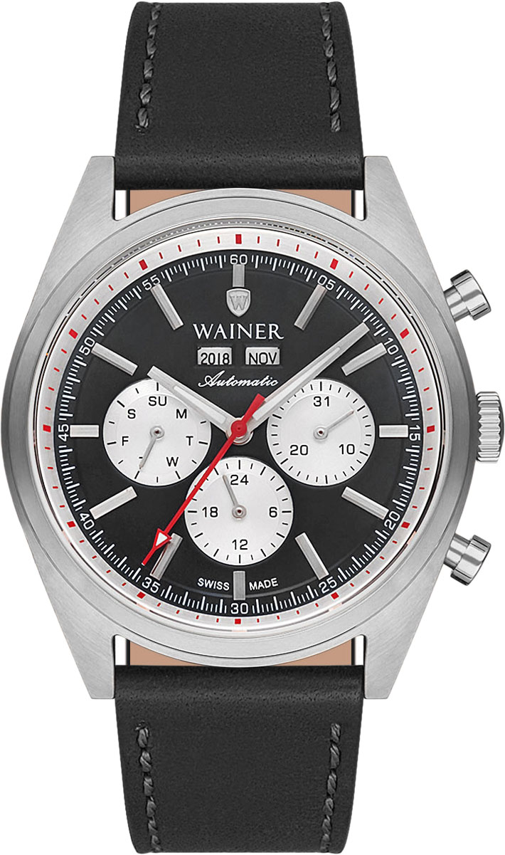 цена Мужские часы Wainer WA.25900-A онлайн в 2017 году