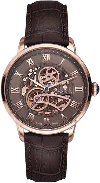 Мужские часы Wainer WA.25990-C купить часы мужские с открытым механизмом