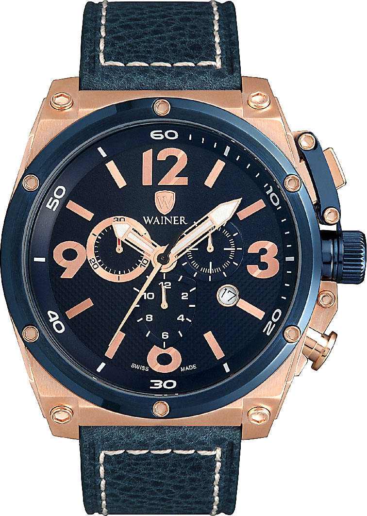 цена  Мужские часы Wainer WA.10770-C  онлайн в 2017 году