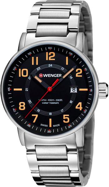 цена Мужские часы Wenger 01.0341.114 онлайн в 2017 году