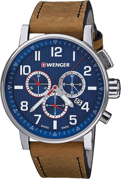 Мужские часы Wenger 01.0343.101 мужские часы wenger 01 1543 101