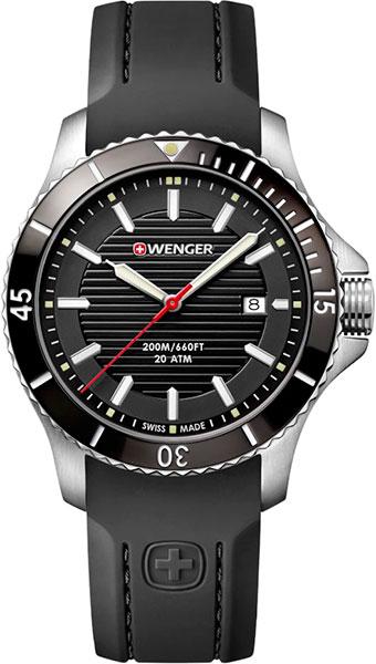 Мужские часы Wenger 01.0641.117 точная копия швейцарских часов