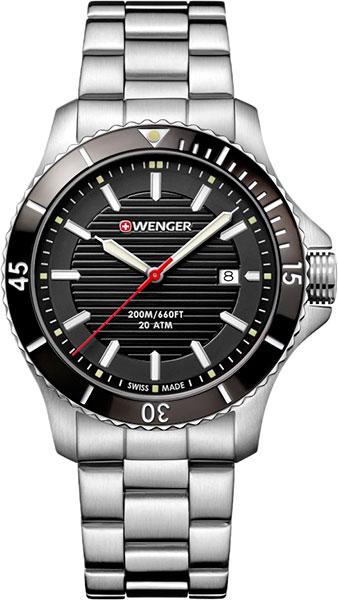 Мужские часы Wenger 01.0641.118 копии швейцарских часов омега