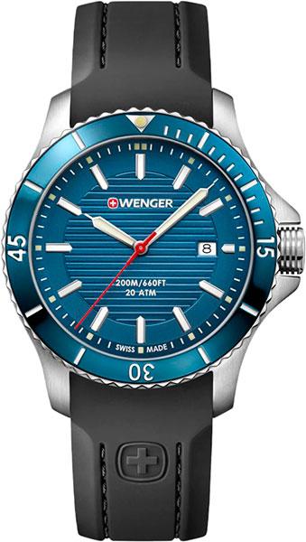 Мужские часы Wenger 01.0641.119 точная копия швейцарских часов