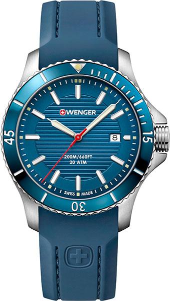 Мужские часы Wenger 01.0641.124 точная копия швейцарских часов