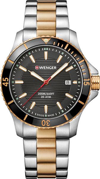 Мужские часы Wenger 01.0641.127 копии швейцарских часов омега