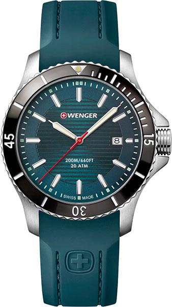 Мужские часы Wenger 01.0641.128 копии швейцарских часов омега