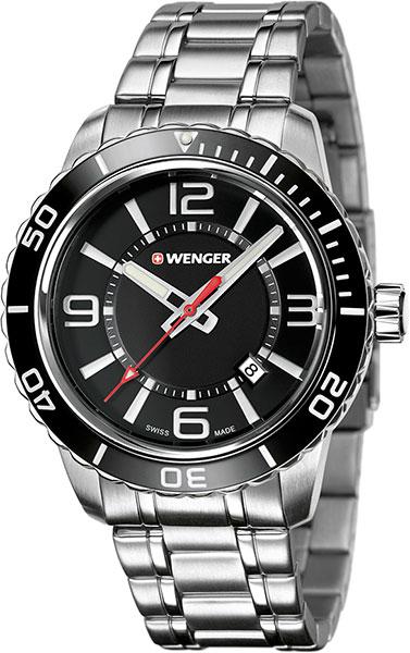 Мужские часы Wenger 01.0851.118 браслет стальной к часам маурицио