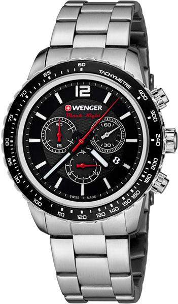 Мужские часы Wenger 01.0853.107 браслет стальной к часам маурицио