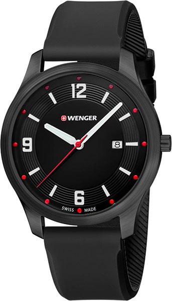 цена Мужские часы Wenger 01.1441.111 онлайн в 2017 году