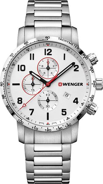 цена Мужские часы Wenger 01.1543.110 онлайн в 2017 году