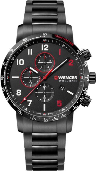 Фото «Швейцарские наручные часы Wenger 01.1543.125 с хронографом»