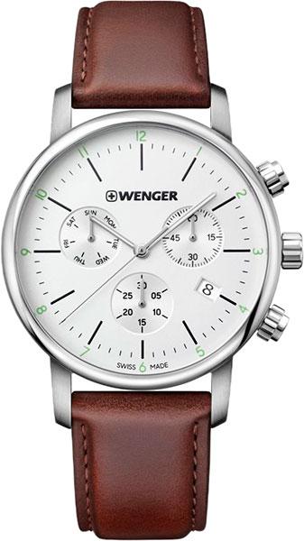 Мужские часы Wenger 01.1743.101 цена и фото