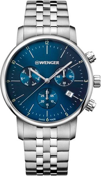 цена Мужские часы Wenger 01.1743.105 онлайн в 2017 году