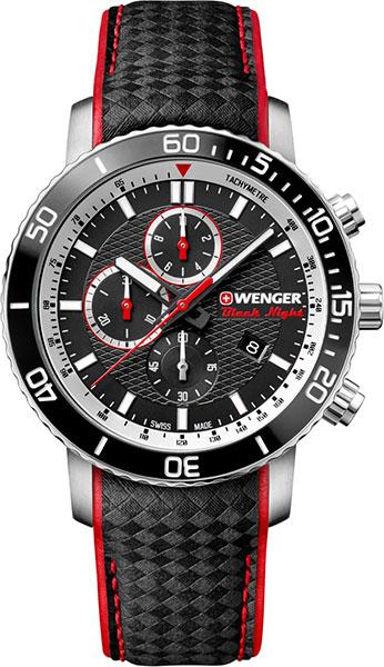 Фото «Швейцарские наручные часы Wenger 01.1843.105 с хронографом»