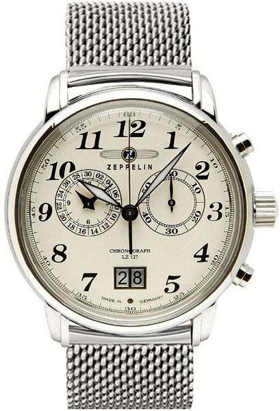 Мужские часы Zeppelin ZEP-7684M5-ucenka мужские часы zeppelin zep 76721 ucenka