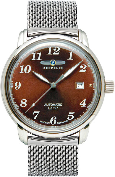 цена  Мужские часы Zeppelin Zep-7656M3  онлайн в 2017 году