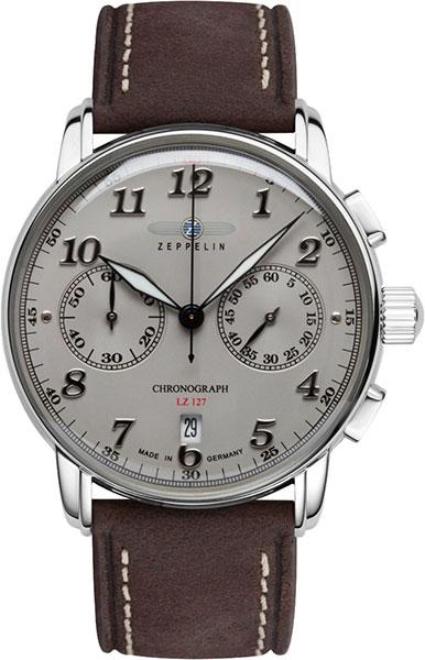 лучшая цена Мужские часы Zeppelin Zep-86784