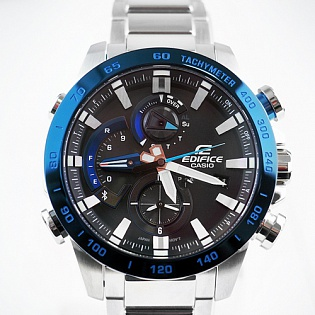 Обзор новинки Casio Edifice Race Lap Chronograph EQB-800