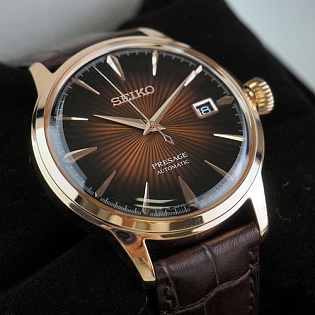 Обзор часов Seiko Presage Cocktail Time